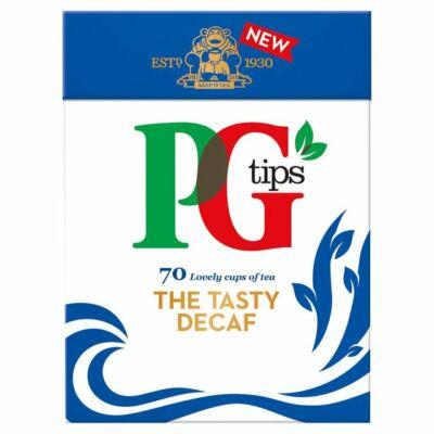 PG Tips Decaf Teabags (Koffeinmentes fekete tea) 70 db filter