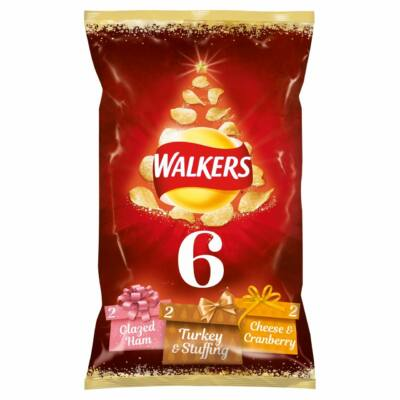 Walkers Crispmas Sprout Haters 6x25g