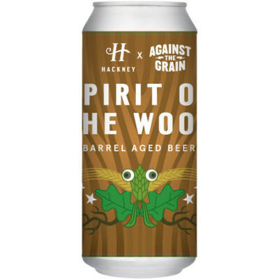 Hackney x Against The Grain Collab- Spirit of The Wood (440ml dobozos, 8.5%)