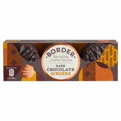 Border Dark Chocolate Gingers 150g