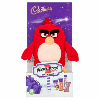 Cadbury Angry Birds Plush Toy & Cadbury Dairy Milk Bar 70g