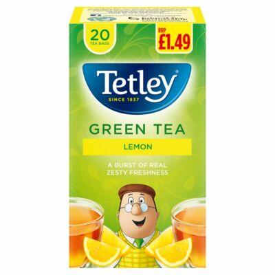 Tetley Green Lemon Tea 20 db filter