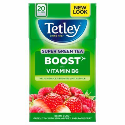 Tetley Super Green Boost Strawberry & Raspberry 20 db filter