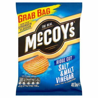 McCoys Salt & Malt Vinegar Crisps 47.5g