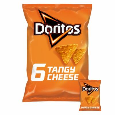 Doritos Tangy Cheese Flavour 6x30g multipack