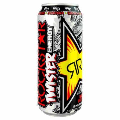 Rockstar Twister Wacked Red Berry 99p 500ml