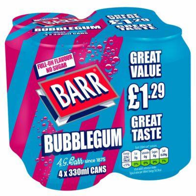 Barr Bubblegum 4-es csomag (4x330ml)