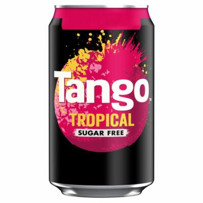 Tango Sugar Free Tropical 330ml