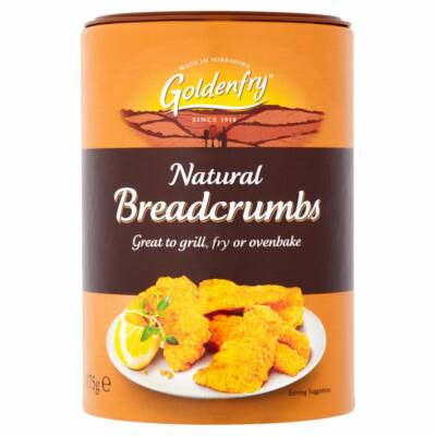 Golden Fry Natural Bread Crumbs 175g
