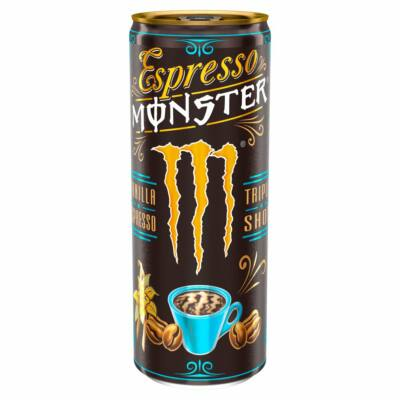 Monster Espresso & Vanilla Energy Coffee (UK) 250ml
