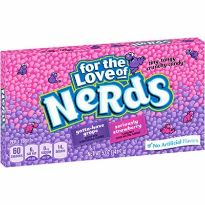 Nerds Grape & Strawberry Video Box 141g