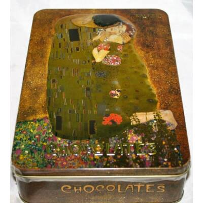 Walkers Chocolates of London Klimt 'The Kiss' Fémdobozos csokoládé desszert 240g