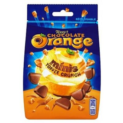 Terrys Chocolate Orange Toffee Crunch 125g