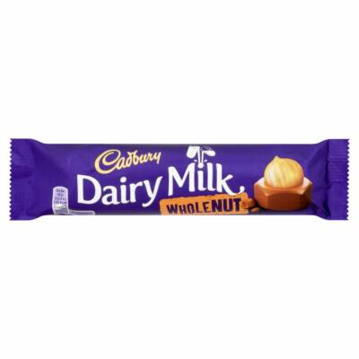Cadbury Dairy Milk Wholenut Bar 45g