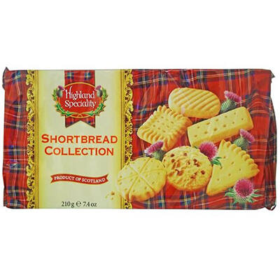 Highland Speciality Shortbread Collection 210g
