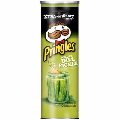 Pringles Screamin' Dill Pickle Potato Crisp Chips [USA] 169g
