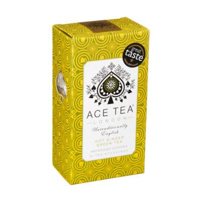Ace Tea Hot Ginger Green Tea 15 db filter