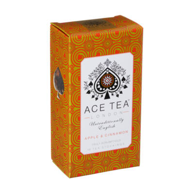 Ace Tea Apple & Cinnamon (Alma-Fahéj)  Tea 15 db teapárna