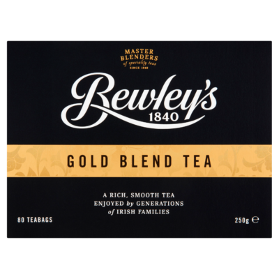 Bewley's Gold Blend Tea 80 db filter