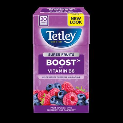 Tetley Super Fruits Boost Blueberry & Raspberry 20 db filter