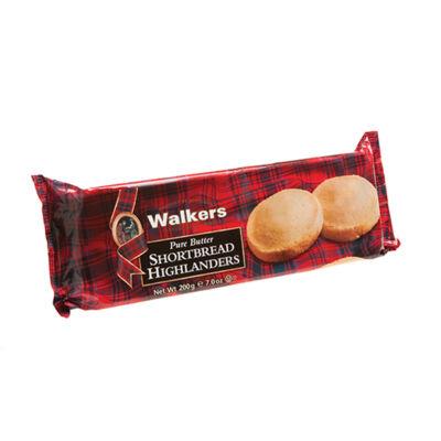 Walkers Highlander Shortbread/Felföldi vajas omlós keksz 200g