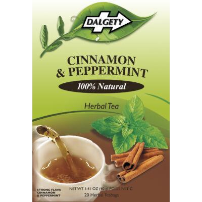 Dalgety Cinnamon & Peppermint (Fahéj és Borsmenta)  Tea 18 db filter