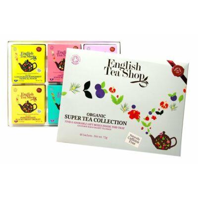 English Tea Shop- Super Tea Collection - Gyümölcsös bio teaválogatás 48db filter