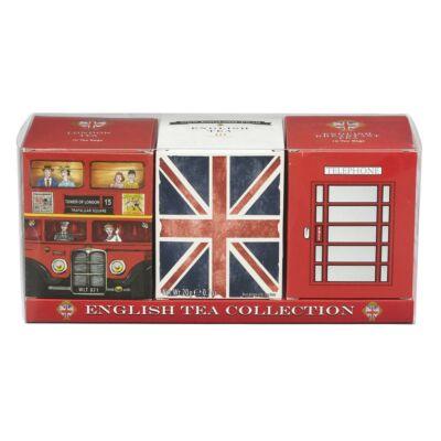 New English Teas - English Tea Collection (Papírkartonos Tripla teaválogatás)
