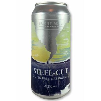 Burnt Mill Steel Cut - Gluten Free Oat Pale Ale (440ml, 4.2%)