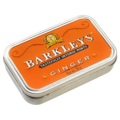 Barkley's Ginger Mints - Gyömbéres cukorka 50g