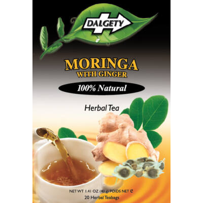 Dalgety Moringa with Ginger Herbal Tea 18 db filter