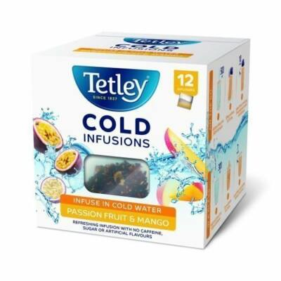 Tetley Cold Infusions Passion Fruit and Mango 12db