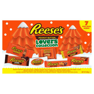 Reeses Lovers Collection Selection Box 285g