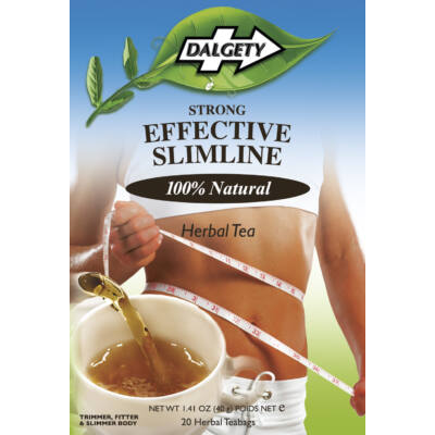 Dalgety Strong Effective Slimline Herbal Tea (Karcsúsító tea) 18 db filter