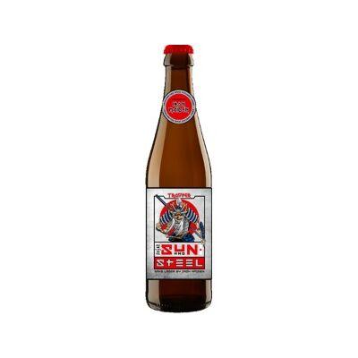 Iron Maiden Trooper Sun and Steel Sake Lager (330ml, 4.8%)