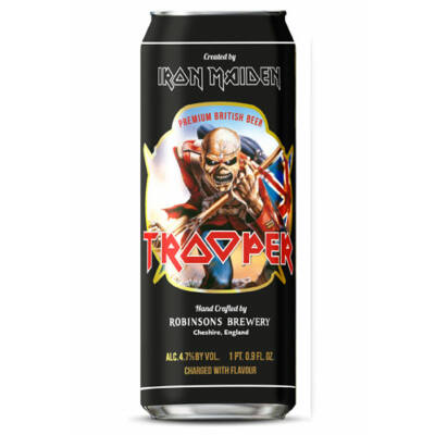 Iron Maiden Trooper dobozos (500ml, 4.7%)