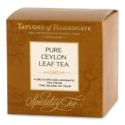 Taylor's of Harrogate Ceylon Tea szálas 125g