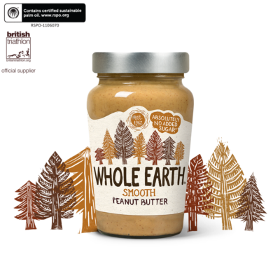 Whole Earth Original Smooth Peanut Butter 340g