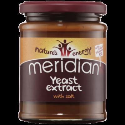 Meridian Yeast Extract (Élesztőkivonat) B12 Vitaminnal és sóval 340g