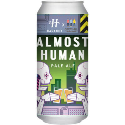 Hackney Brewery Almost Human Pale Ale (Gipsy Hill Collab 440ml, 5.2°%)