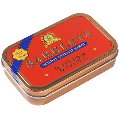 Barkley's Ginger & Orange Mints - Gyömbér-narancs ízű cukorka 50g