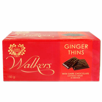 Walkers After Dinner Ginger Thins 150g