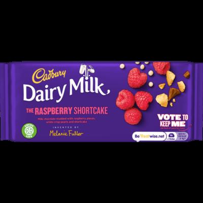 Cadbury Dairy Milk The Raspberry Shortcake 110g