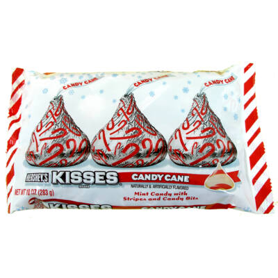 Hershey's Kisses Candy Cane 226g [USA]