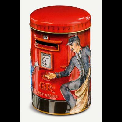 Churchills Post Box Tin (Postaládás fémdoboz karamellával) 200g