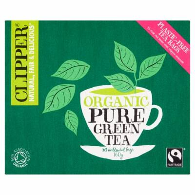 Clipper Organic Fairtrade Green Tea 80 db filter