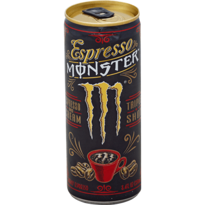 Monster Espresso & Cream Energy Coffee [USA] 239ml