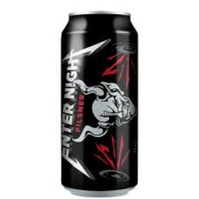 Metallica Enter Night Pilsner sör (500ml, 5.7%)