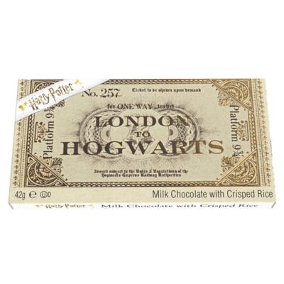 Harry Potter™ Platform 9¾ Tejcsokoládé vonatjegy 42g