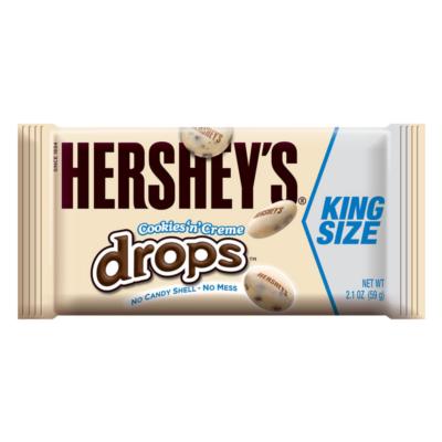 Hershey's Cookies N Creme Drops King Size 59g